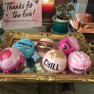 Six Victoria's Secret Bath Bombs